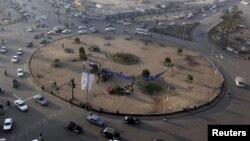 Pamje e Sheshit Tahrir në Kajro të Egjiptit