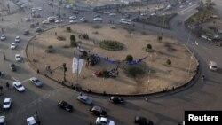 ميدان التحرير بالقاهرة بعد عودة حركة المرور فيه
