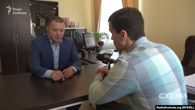 Голова Державної виконавчої служби Міністерства юстиції Дмитро Поліщук коментувати свої взаємини з Порядіним відмовився