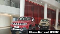 """Beijing Electric Vehicle Co., Ltd"" (BAIC Group) корпорациясынын өндүрүмү."