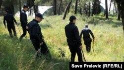Podgorica: Potraga za nestalim dječakom