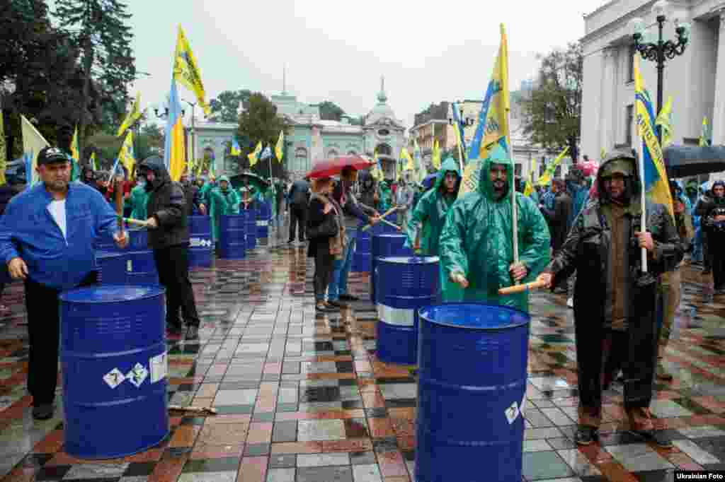 Акція протесту власників автомобілів з євро реєстрацієюв Києві, 6 вересня 2017 року БІЛЬШЕ ПРО ЦЕ