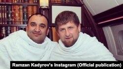 Ахмадов Мохьмад (аьрр), Кадыров Рамзан.