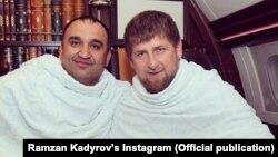 Экс-министр труда Чечни Мохмад Ахмадов и глава республики Рамзан Кадыров