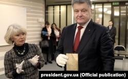 Former Ukrainian President Petro Poroshenko