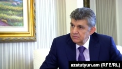 Russia - Russian-Armenian businessman Ara Abrahamian speaks to RFE/RL.