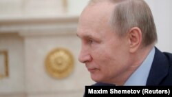 The apparent e-mail was soliciting support for Putin's constitutional changes.