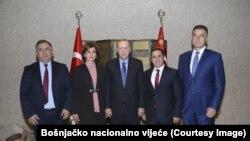 Jasmina Curić, predsjednica BNV i Redžep Tajip Erdoan, predsjednik Turske