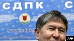 Алмозбек Атамбоев, раиси ҳизби сосиал-демократ ва собиқ нахуствазири Қирғизистон
