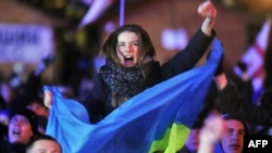 Революция достоинства. Киев, Майдан Независимости, 2 декабря 2013 года