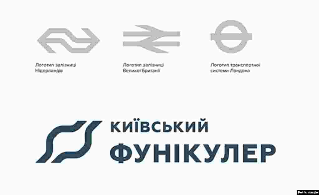 Логотип київського фунікулера