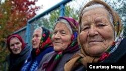 """Кадр из фильма """"Чернобыльские бабушки"""""""