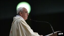 Papa na misi u Rio de Žanieru, 27. jul 2013.