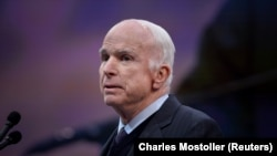 U.S. Senate Armed Services Committee Chairman John McCain (file photo)