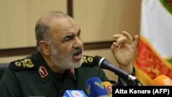 Brigadier General Hossein Salami, deputy commander of Iran's Islamic Revolutionary Guard Corps. File photo