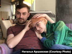 Уладзімер Міхайлоўскі і Любоў Зямцова