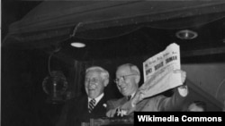 Гарри Труман после избрания