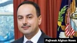 Ambasadori i Afganistanit në SHBA, Eklil Hakimi.