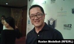 "Энди Ши - дүниежүзілік ""Autism Speakers"" ұйымының президенті. Алматы, 26 маусым 2014 жыл."
