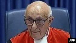 Theodor Meron, predsjednik Haškog tribunala