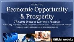 2011 წლის ეკონომიკური თავისუფლების ინდექსი