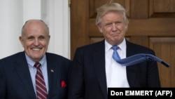 Руди Джулиани и Дональд Трамп