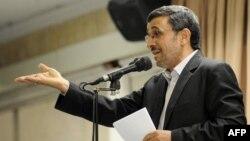 Иран президенті Махмұд Ахмадинежад. Тегеран, 21 шілде 2013 жыл.