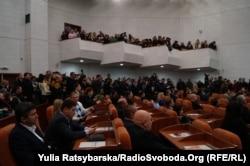 Дніпропетровська міська рада, перше засідання. 27 листопада 2015 року
