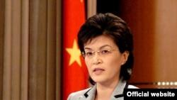 Хитой ТИВ матбуот котиби Цзян Юй.
