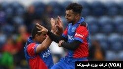 دو بازیکن تیم ملی کریکت افغانستان