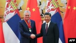 Tomislav Nikolić i predsednik Kine Si Đinping, Peking, 30. mart 2017