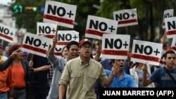 У Каракасі 30 січня знову відбулися протести проти чинного президента Ніколаса Мадуро