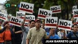 La protestele de la Caracas, 30 ianuarie 2018