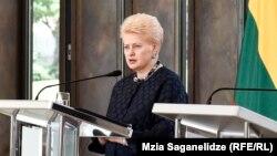Даля Грібаускайте отримала нагороду імені Паславського за «видатну роль у долі Української держави»