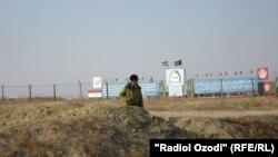Таджико-афганская граница в Халтоне