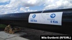 Conductă TurkStream în construcție în Serbia