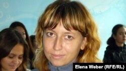 "Валентина Сильванович, студентка колледжа ""Мирас"". Темиртау, 15 сентября 2012 года."