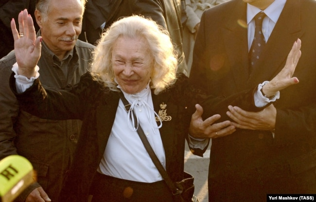 85-летняя Марина Антоновна Деникина-Грэй, 2005 год