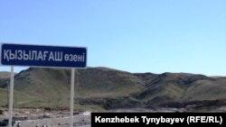 Қызылағаш өзені. Алматы облысы, 28 маусым 2010 жыл