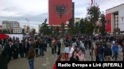 Pamje nga një pjesë e Tiranës