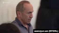 სომხეთი, 2019 წლის 14 ივნისი: რობერტ ქოჩარიანი ერევნის სასამართლოში