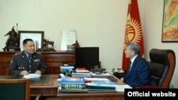 Алмазбек Атамбаев жана Улан Исраилов
