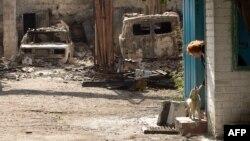 Попасна, Луганська область, жовтень 2014 року