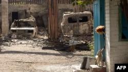 Иллюстративное фото. Луганская область. Октябрь 2014 года