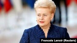 Litva prezidenti Dalia Grybauskaite