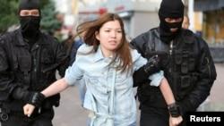 Задержания на акции в Алматы, 12 июня 2019 года.