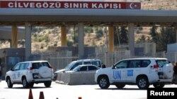 ՄԱԿ-ի ավտոմեքենաները Թուրքիայից մուտք են գործում Սիրիա, 16-ը սեպտեմբերի, 2016թ․