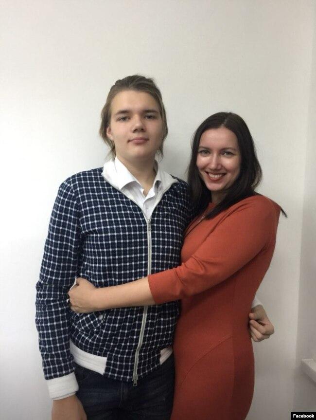 Лев Гяммер и Ольга Гяммер