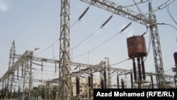 Iraq – an electricity station in Sulaymaniya, File photo