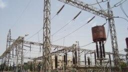 بخشی از شبکه انتقال برق عراق